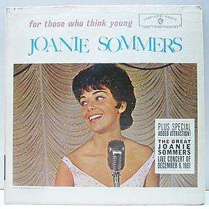 レコード画像:JOANIE SOMMERS / For Those Who Think Young