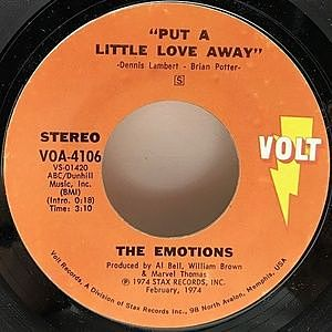レコード画像:EMOTIONS / Put A Little Love Away