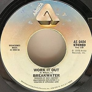 レコード画像:BREAKWATER / Work It Out / Feel Your Way