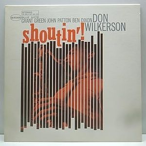 レコード画像:DON WILKERSON / Shoutin'