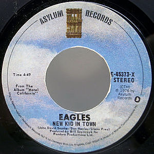 レコード画像:EAGLES / New Kid In Town / Victim Of Love