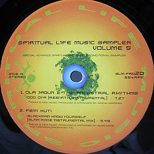 レコード画像:VARIOUS / Spiritual Life Music Sampler Vol. 5