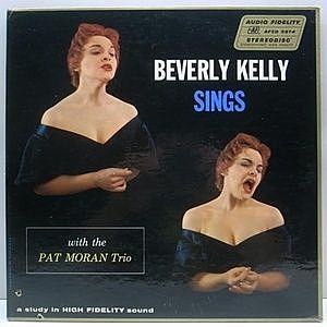 レコード画像:BEVERLY KELLY / PAT MORAN / Beverly Kelly Sings With The Pat Moran Trio
