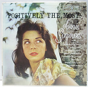 レコード画像:JOANIE SOMMERS / Positively The Most