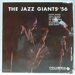 レコード画像:JAZZ GIANTS '56 / LESTER YOUNG / The Jazz Giants '56