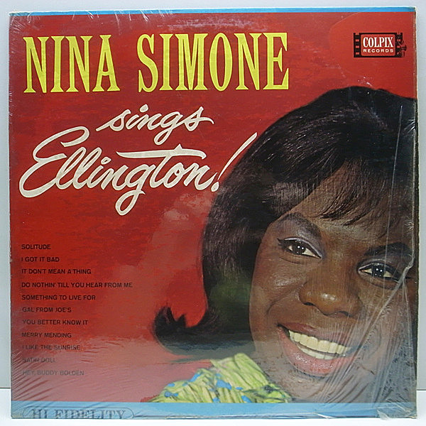 レコードメイン画像:w/shrink 美品!! MONO USオリジ NINA SIMONE Sings Ellington