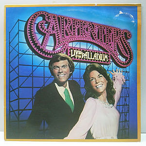 レコード画像:CARPENTERS / Live At The Palladium