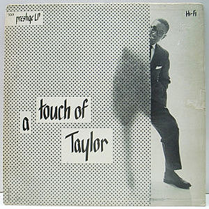 レコード画像:BILLY TAYLOR / A Touch Of Taylor
