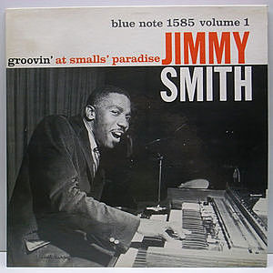レコード画像:JIMMY SMITH / Groovin' at Smalls Paradise
