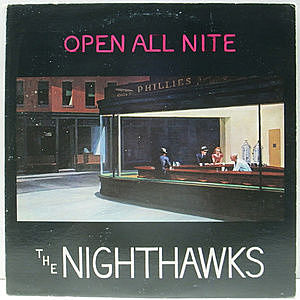レコード画像:NIGHTHAWKS / Open All Nite