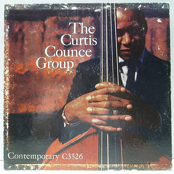 レコードメイン画像:USオリジナル MONO 深溝 CURTIS COUNCE GROUP Landslide ('57 Contemporary) JACK SHELDON, HAROLD LAND, CARL PERKINS, FRANK BUTLER