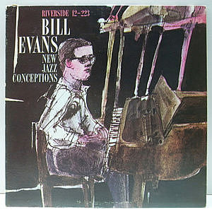 レコード画像:BILL EVANS / New Jazz Conceptions