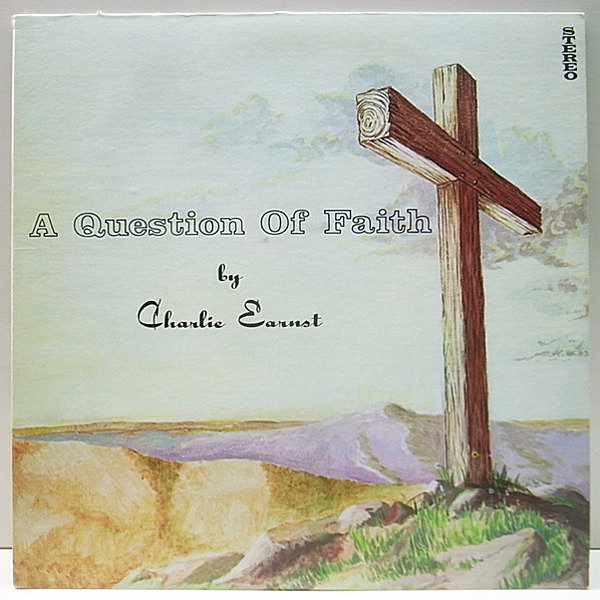 レコードメイン画像:レア!! PRIVATE 自主 オリジナル CHARLIE EARNST A Question Of Faith ('74 Waltersdorff) US LONER ACID FOLK PSYCH