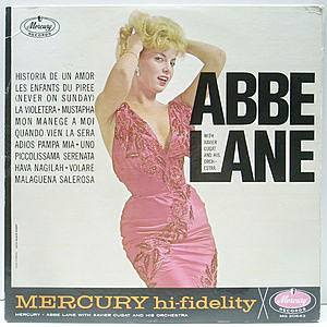 レコード画像:ABBE LANE / Abbe Lane With Xavier Cugat And His Orchestra