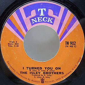 レコード画像:ISLEY BROTHERS / I Turned You On / I Know Who You Been Socking It To