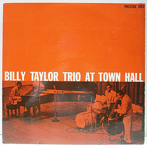 レコード画像:BILLY TAYLOR / At Town Hall