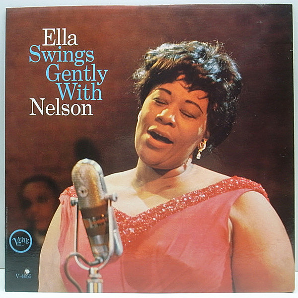 レコードメイン画像:美盤!! MONO オリジ ELLA FITZGERALD Swings Gently With NELSON