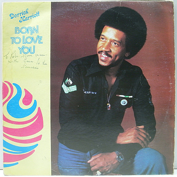 レコードメイン画像:JAMAICA オリジナル DERRICK HARRIOTT Born To Love You ('79 Crystal D) La La Means I Love You, The Loser ほか SLY & ROBBIE 参加 LP