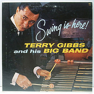 レコード画像:TERRY GIBBS / Swing Is Here!