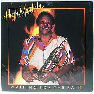 レコード画像:HUGH MASEKELA / Waiting For The Rain
