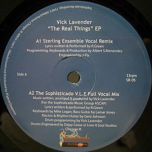 レコード画像:VICK LAVENDER / The Real Thing EP