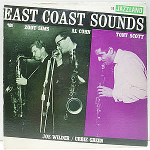 レコード画像:ZOOT SIMS / AL COHN / TONY SCOTT / East Coast Sounds