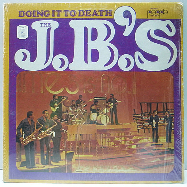 レコードメイン画像:CYPRESS HILLネタ w./Shrink STERLING刻印 USオリジナル J.B.'S Doing It To Death ('73 People) More Peas, La Di Da La Di Day ほか