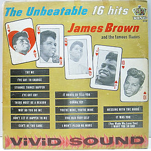 レコード画像:JAMES BROWN / FAMOUS FLAMES / The Unbeatable - 16 Hits