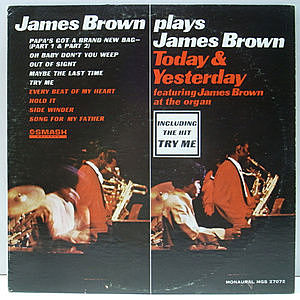レコード画像:JAMES BROWN / Today & Yesterday