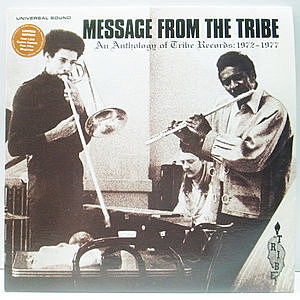 レコード画像:VARIOUS / Message From The Tribe (An Anthology Of Tribe Records: 1972-1976)