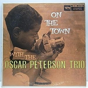 レコード画像:OSCAR PETERSON / On The Town With The Oscar Peterson Trio