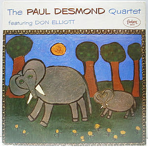 レコード画像:PAUL DESMOND / Featuring Don Elliott
