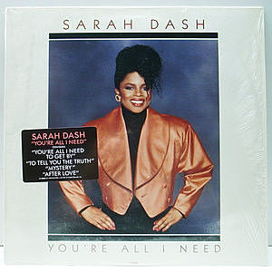 レコード画像:SARAH DASH / You're All I Need