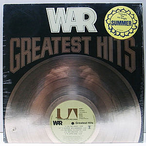 レコード画像:WAR / Greatest Hits
