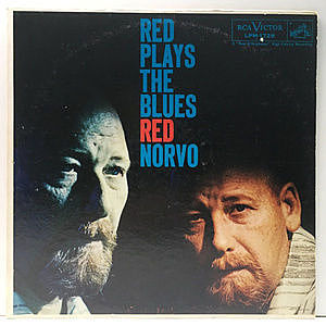 レコード画像:RED NORVO / Red Plays The Blues