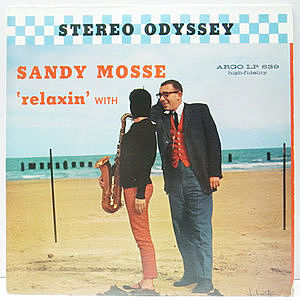 レコード画像:SANDY MOSSE / Relaxin' With Sandy Mosse