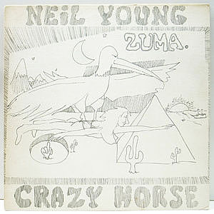 レコード画像:NEIL YOUNG / CRAZY HORSE / Zuma