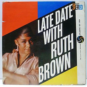 レコード画像:RUTH BROWN / Late Date With Ruth Brown