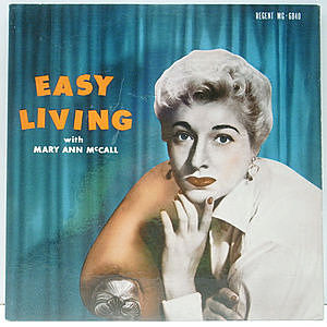 レコード画像:MARY ANN McCALL / Easy Living