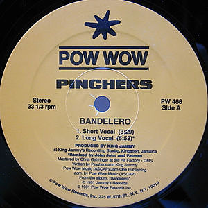 レコード画像:PINCHERS / Bandelero / Hold Me