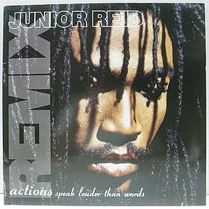 レコード画像:JUNIOR REID / Actions Speak Louder Than Words