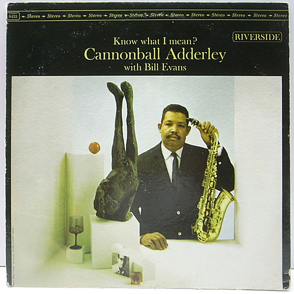 レコードメイン画像:美盤!! US初期 リール無し・青ラベル CANNONBALL ADDERLEY With BILL EVANS Know What I Mean? (Riverside RLP 9433) Waltz For Debby ほか