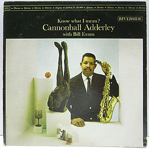 レコード画像:CANNONBALL ADDERLEY / BILL EVANS / Know What I Mean?