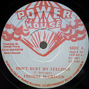 レコード画像:FREDDIE MCGREGOR / Don't Hurt My Feelings