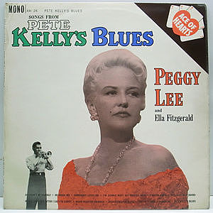 レコード画像:PEGGY LEE and ELLA FITZGERALD / Songs From Pete Kelly's Blues