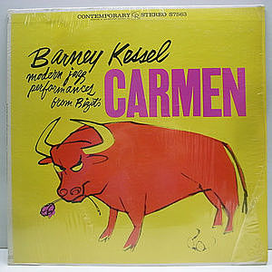 レコード画像:BARNEY KESSEL / Modern Jazz Performances From Bizet's Opera - Plays Carmen