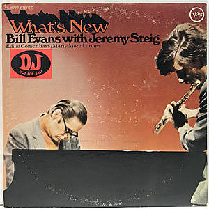 レコード画像:BILL EVANS / JEREMY STEIG / What's New