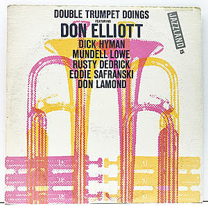 レコード画像:DON ELLIOTT / Double Trumpet Doings