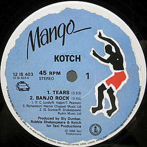 レコード画像:KOTCH / Tears / Two Occasions