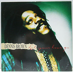 レコード画像:DENNIS BROWN / Let Your Love Go (Real Love)